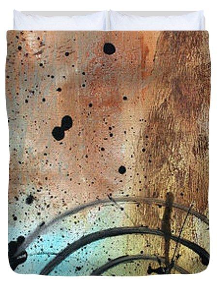 Desert Surroundings 4 By Madart Duvet Cover by Megan Duncanson