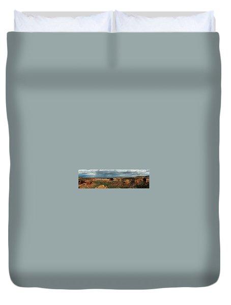 Desert Thunderstorm Duvet Cover