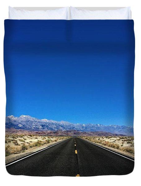 Desert To The Mountains Duvet Cover