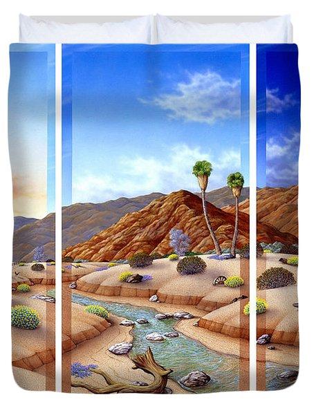 Desert Vista Duvet Cover by Snake Jagger