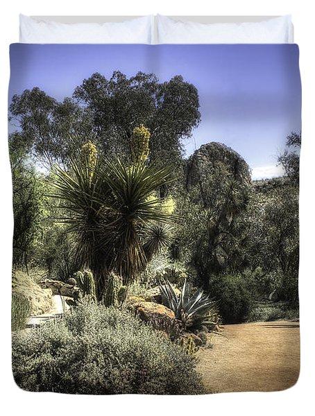 Desert Walkway Duvet Cover