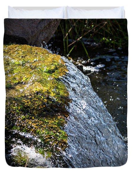 Desert Waterfall Duvet Cover