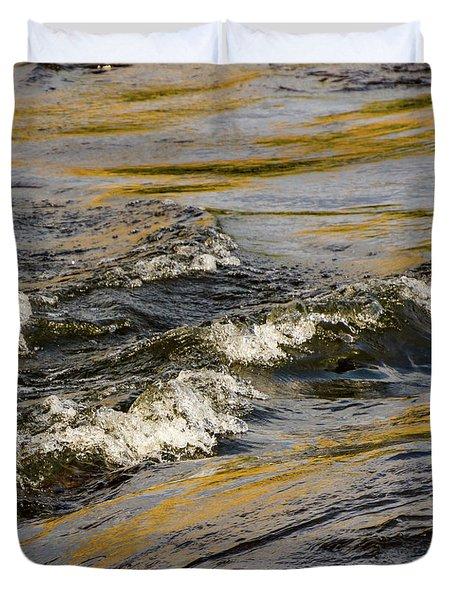 Desert Waves Duvet Cover