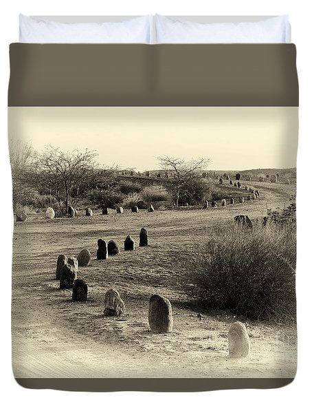 Desert Ways Duvet Cover