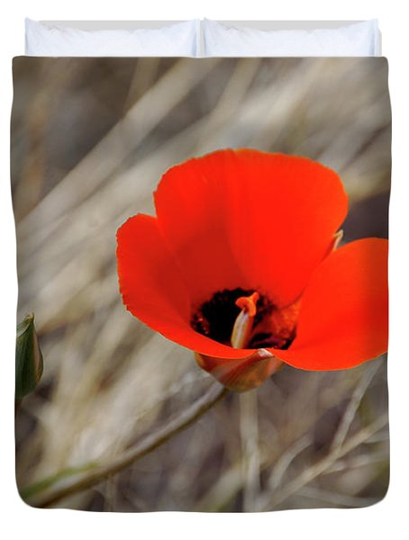 Desert Wildflower Duvet Cover