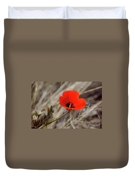 Desert Wildflower Duvet Cover