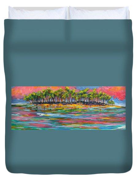 Deserted Island Duvet Cover