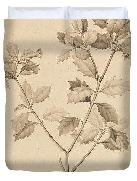 Desfonainia Spinosa Duvet Cover