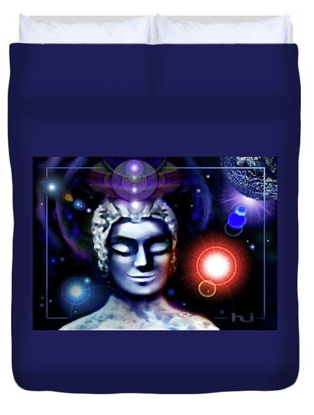 Buddha - Be At Peace Duvet Cover