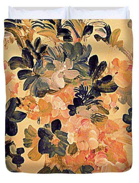 Designing Flowers Duvet Cover