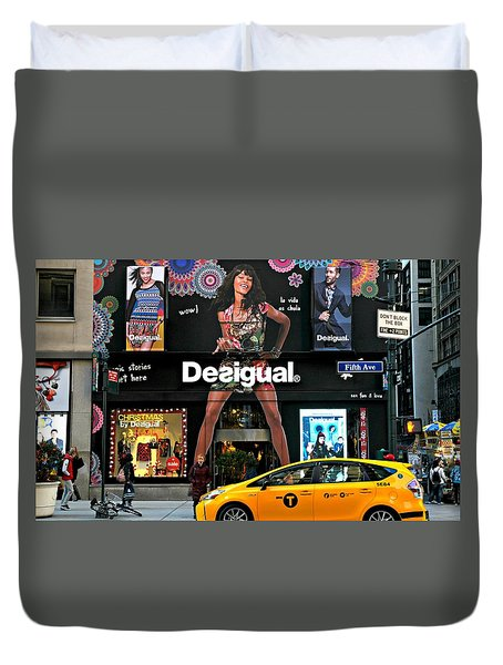 Desigual Duvet Cover by Diana Angstadt