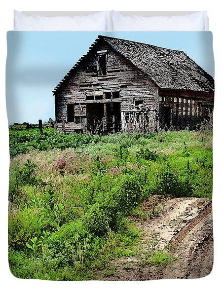 Desolate Duvet Cover by Betty LaRue