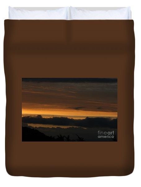 Duvet Cover featuring the photograph Desolate by Cynthia Marcopulos