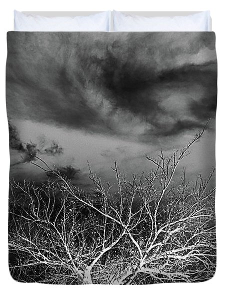 Desolate Feel Duvet Cover by Yvonne Emerson AKA RavenSoul