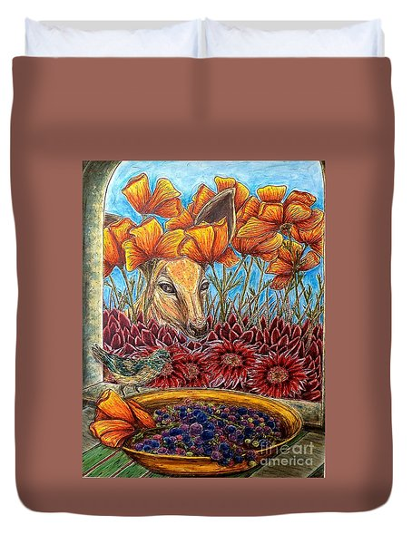 Dessert Anyone? Duvet Cover