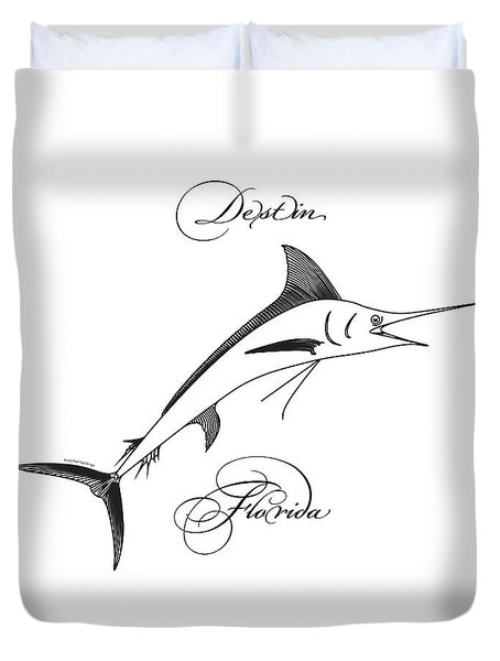 Destin Florida Duvet Cover