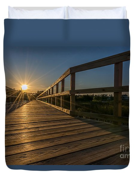 Destination Duvet Cover by Brian Wright