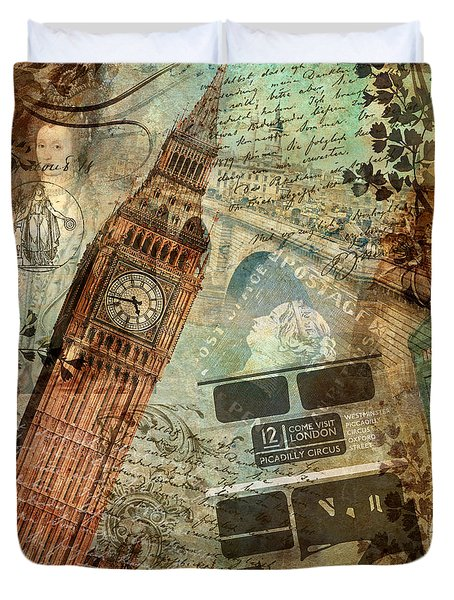 Destination London Duvet Cover