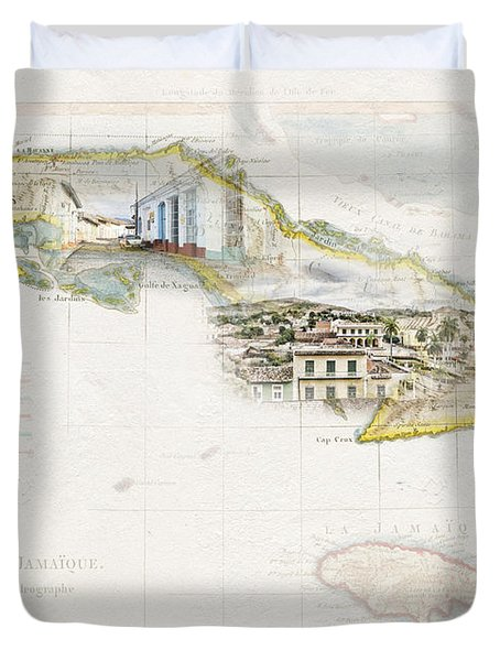 Destination Trinidad Duvet Cover
