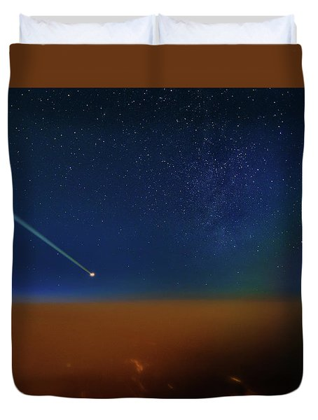 Destination Universe Duvet Cover
