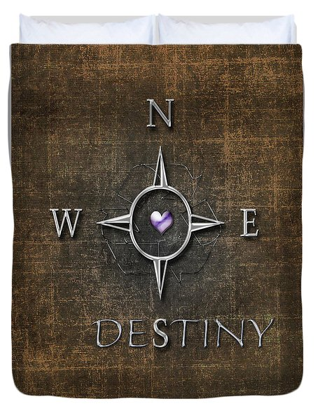 Destiny Duvet Cover