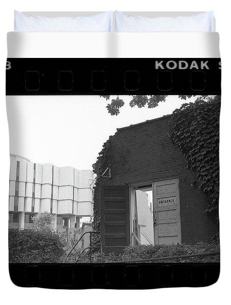Destruction Of The Speech Annex, 1980 Duvet Cover
