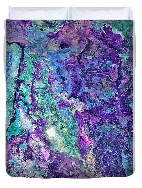 Detail Of Waves Duvet Cover
