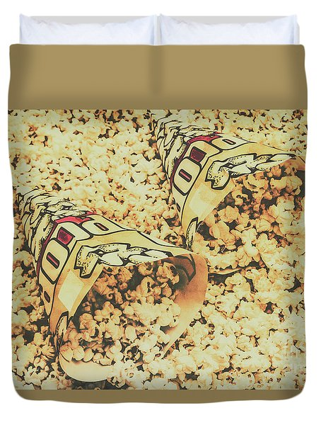 Details From The Old Drive-in  Duvet Cover
