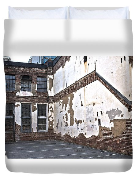 Deteriorated Duvet Cover