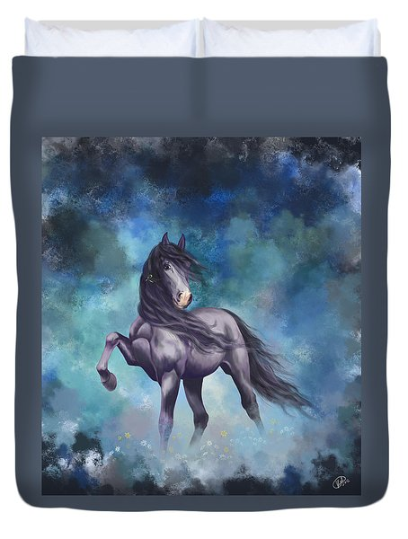 Determination Duvet Cover by Kate Black