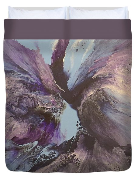 Determination Duvet Cover