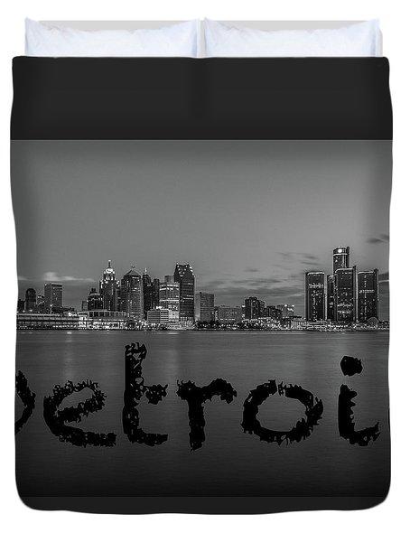Detroit City  Duvet Cover