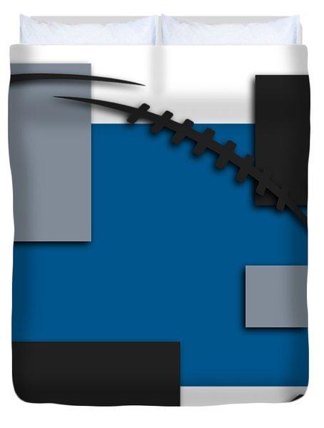 Detroit Lions Abstract Shirt Duvet Cover