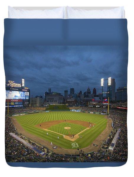 Detroit Tigers Comerica Park 2 Duvet Cover