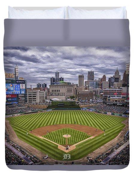 Detroit Tigers Comerica Park 4837 Duvet Cover