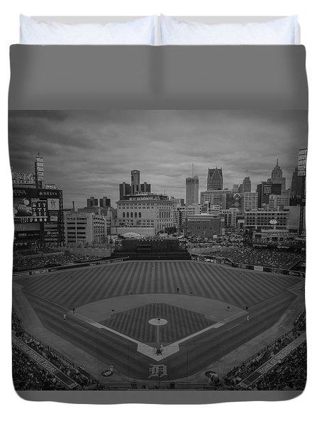 Detroit Tigers Comerica Park Bw2  4837  Duvet Cover