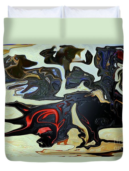 Devil Dog Duvet Cover