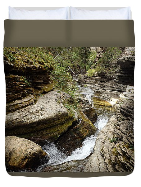 Devil's Bathtub Sd Duvet Cover