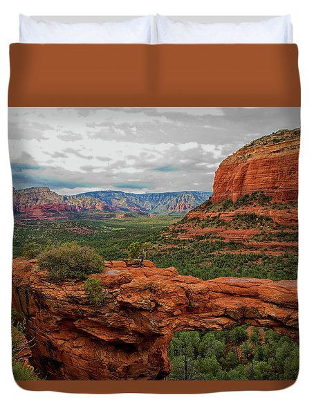 Devil's Bridge Duvet Cover