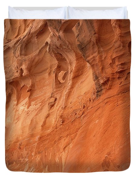 Devil's Canyon Wall Duvet Cover