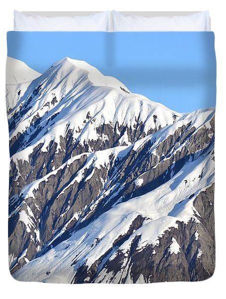 Devils Food With Frosting - Wrangall St. Elias Duvet Cover