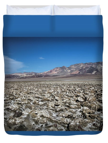 Devil's Golf Course Duvet Cover