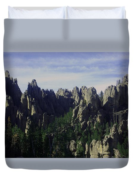 Devil's Peak Duvet Cover