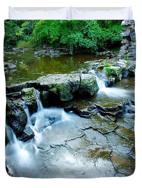 Devils River 1 Duvet Cover