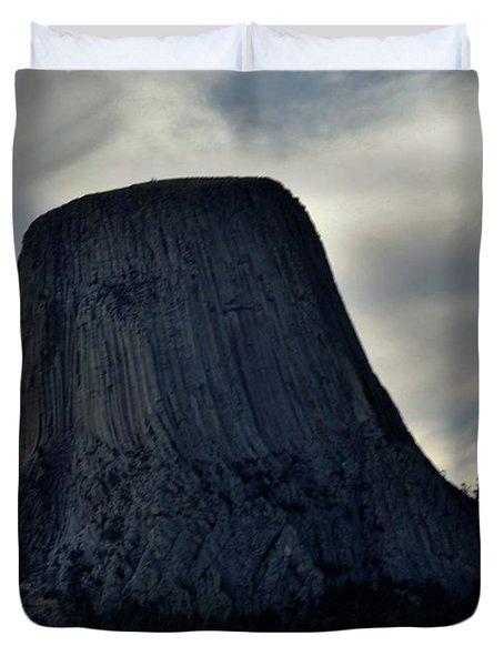 Devils Tower Duvet Cover