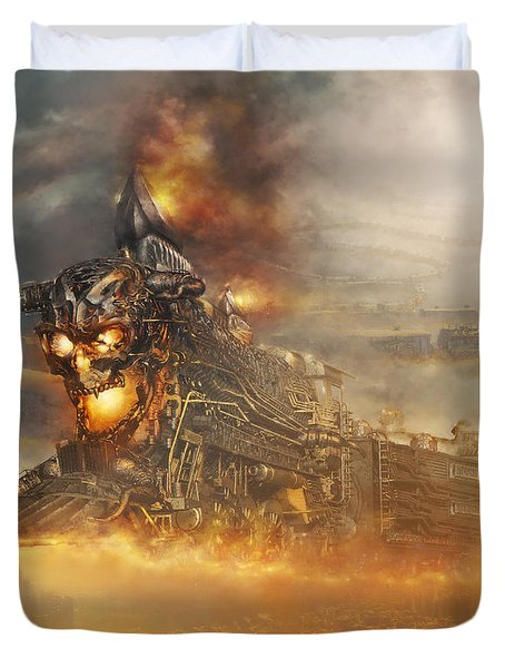 Devils Train 2 Duvet Cover