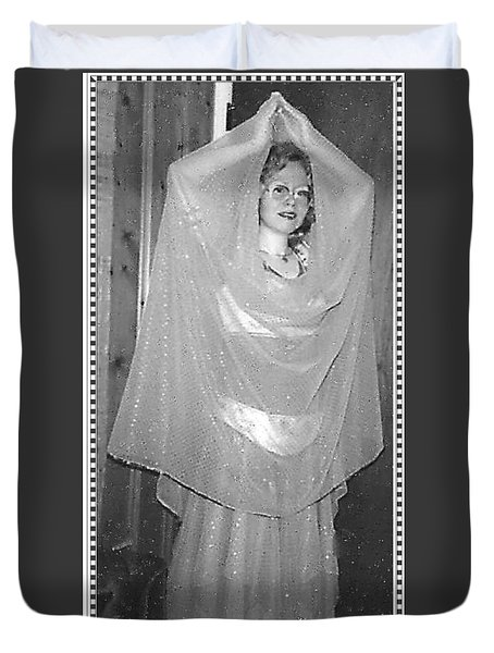 Duvet Cover featuring the photograph Devotion by Denise Fulmer