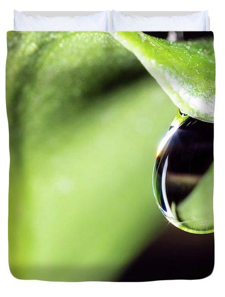 Dew Drop Duvet Cover