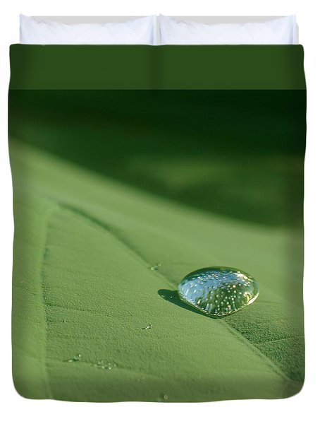 Dew Drop Duvet Cover