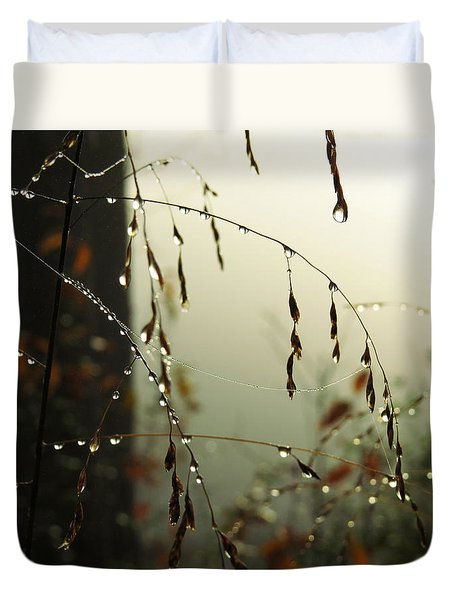 Dew Drop Garland Duvet Cover